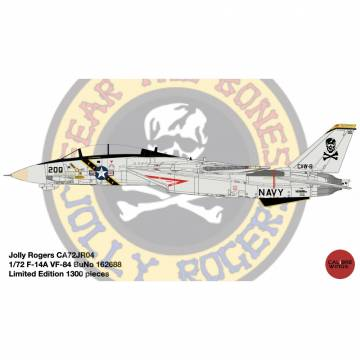 1/72 F-14A VF-84 Jolly Rogers BuNo 162688