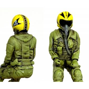 1/72 Seated Fighter Pilot US Navy